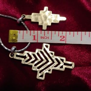 Lucky Brand Jewelry - Aztec/Southwestern 2 tone Lucky Brand set